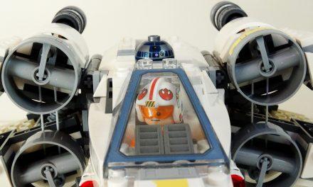 Review: LEGO Star Wars X-Wing Starfighter 75218 (2018) <br>– Lohnt sich der Kauf?