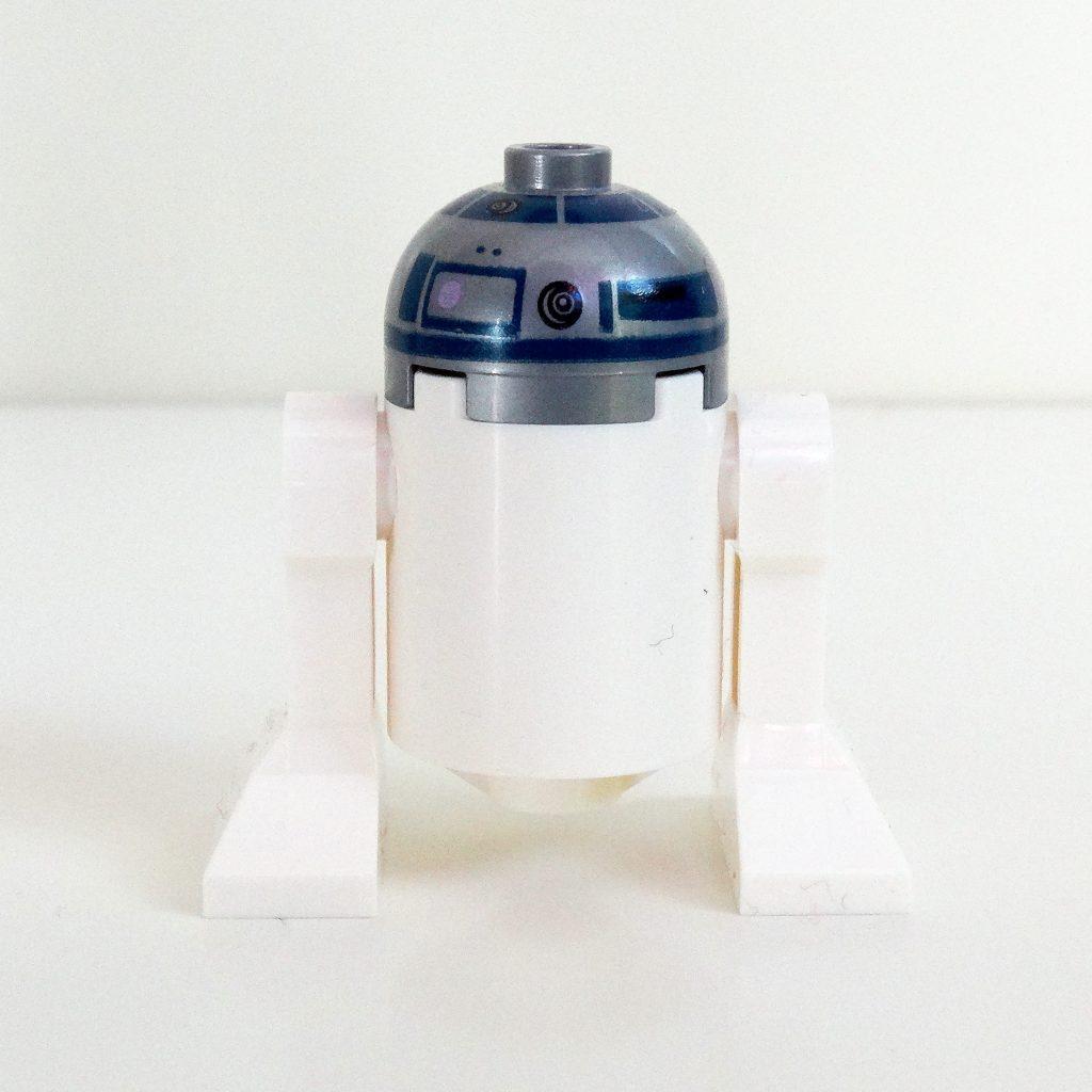 Rückansicht von R2-D2.