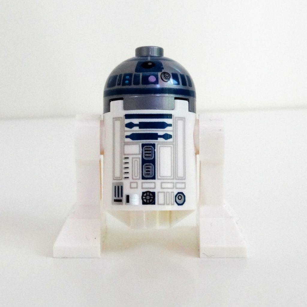 Vorderansicht von R2-D2.