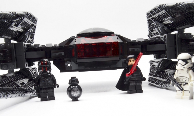 "<span lang=""en"">Review: LEGO Star Wars Kylo Ren's TIE Fighter</span> 75179 (2017)"